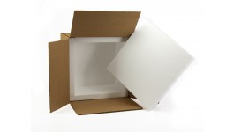 "12x12x8 Insulated Shipping Box with 1"" Foam (12 pack)"