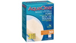 AquaClear 30 Foam Filter Insert (3 Pack)