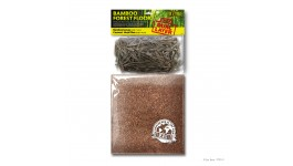 Exo Terra Bamboo Forest Floor (LARGE - 2 Quarts Bamboo Leaves & 6 Quarts Coconut Husk Fiber)