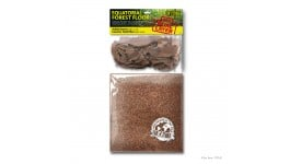 Exo Terra Equatorial Forest Floor (LARGE - 2 Quarts Ardisia Leaves & 6 Quarts Coconut Husk Fiber)