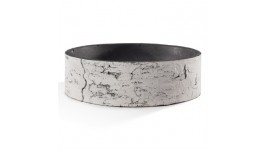 """Nature Innovations Surreal Birch Shallow Planter - 9"""""""