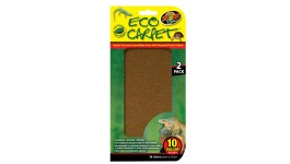 """Zoo Med Eco Carpet Brown (10 gallon, 10""""x20"""") - 2 Pack"""