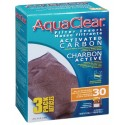 AquaClear 30 Activated Carbon Filter Insert (5.8 oz) 3 Pack