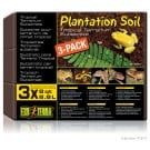 Exo Terra Plantation Soil (8 Quart Brick) 3 Pack