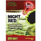 Zilla Night Red Incandescent Spot (100 Watt)