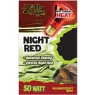 Zilla Night Red Incandescent Spot (50 Watt)