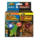 Zoo Med Day & Night Reptile Bulb Combo Pack (60 Watt)