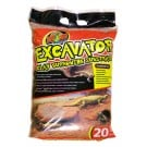 Zoo Med Excavator Clay Burrowing Substrate (20 lb bag, 9 kg)